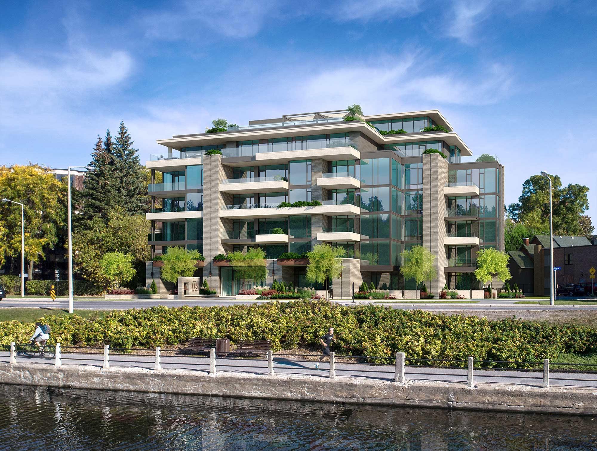 Rideau Canal -condominium living